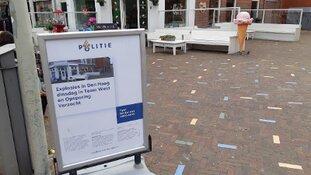 Explosies reisbureau en ijssalon Den Haag bij Team West