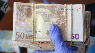 Bijna twee miljoen cash in beslag genomen