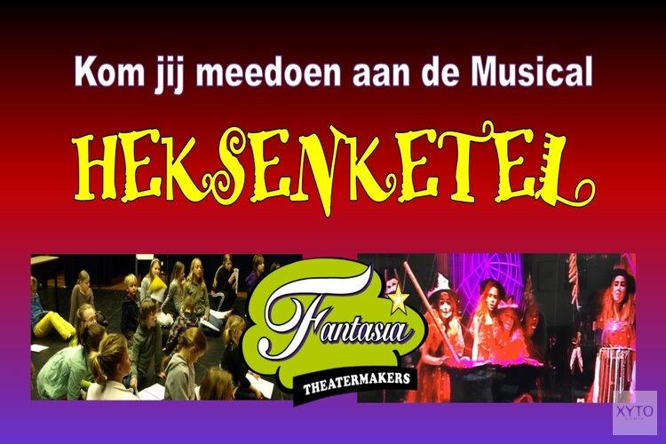Doe mee aan de musical van Fantasia Theatermakers!