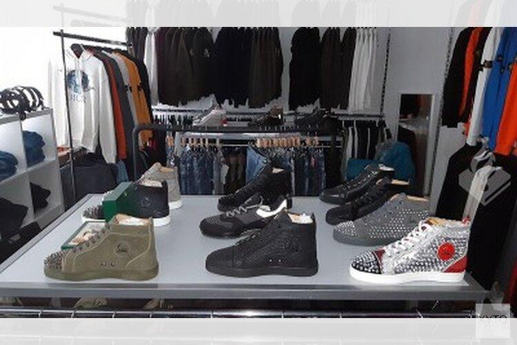 Wederom grote hoeveelheid nepkleding en -schoenen in beslag genomen