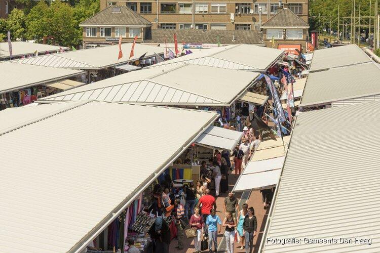 Standplaatsen vrij op Haagse Markt