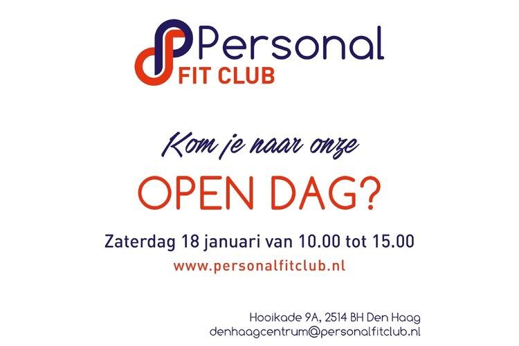 Open dag Personal Fit Club Den Haag Centrum