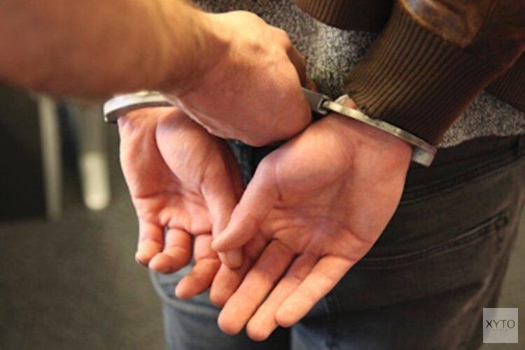 Zes verdachten op heterdaad aangehouden bij woninginbraken