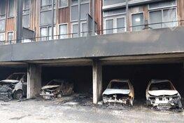Drie aanhoudingen in brandonderzoek Laan van Wateringse Veld