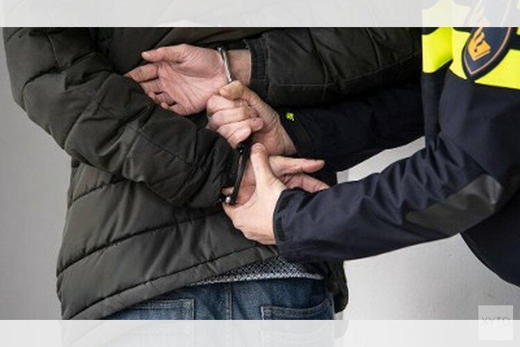 Drugspand ontdekt, man aangehouden
