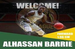 Alhassan Barrie voegt zich bij Royals-team
