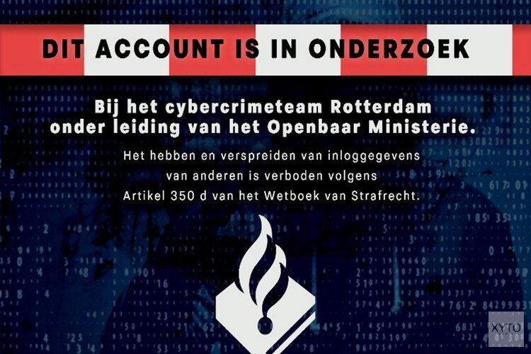 Invallen bij twee handelaren van gestolen webwinkelaccounts