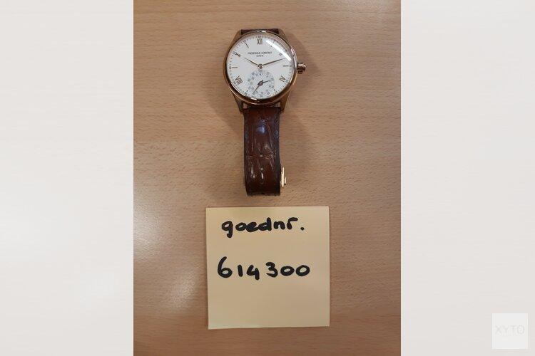 Eigenaren van horloges en sieraden gezocht